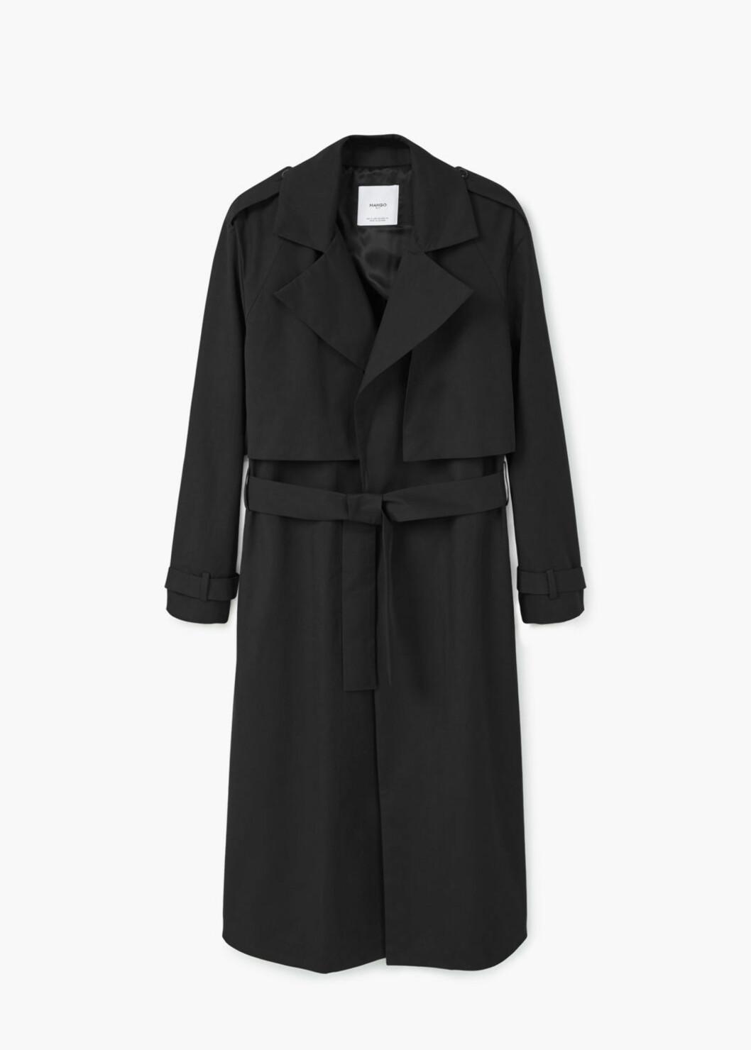 Trench coat fra Mango | kr 1199 | Foto: Produsenten