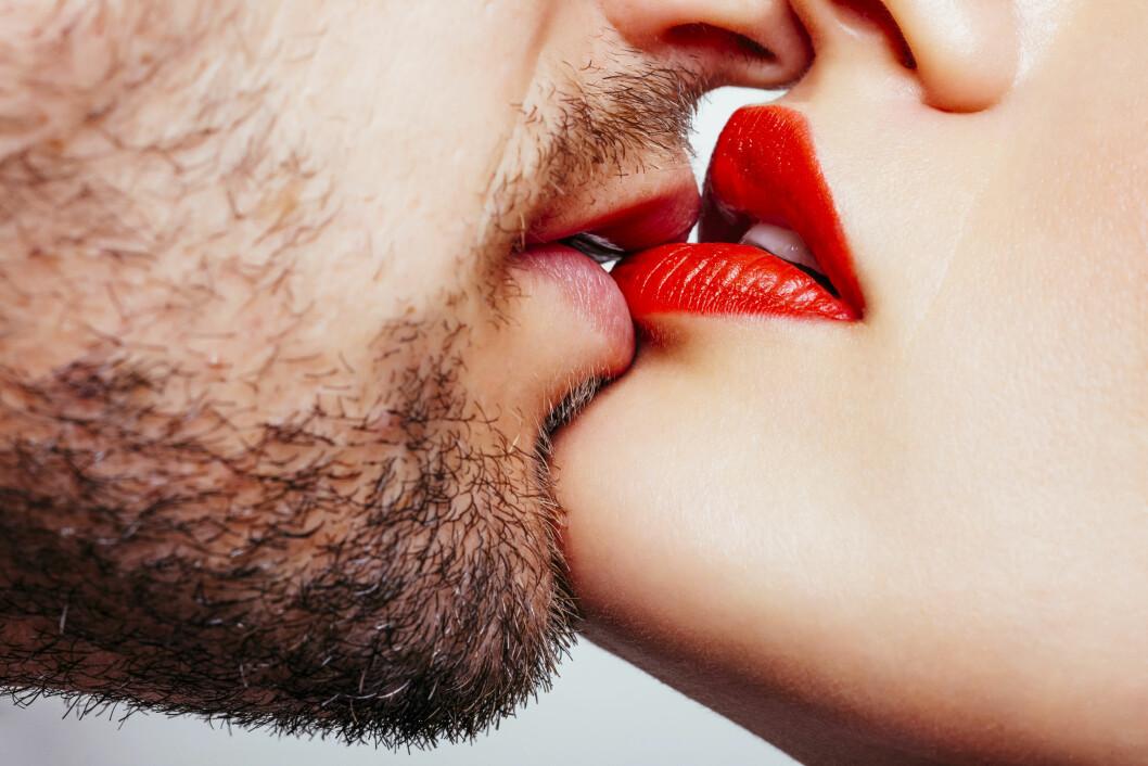 <strong>VIKTIG:</strong> Et kyss er svært viktig for utviklingen av forholdet.  Foto: Shutterstock / Aleksandra Kovac