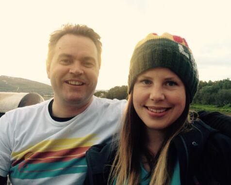 image: Betina (32) og Bjørn (37) møttes på singeltreff i fjellet - og ble forelsket