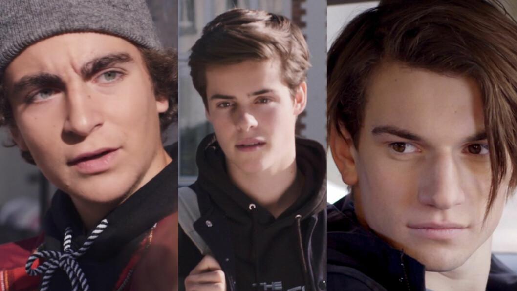 <strong>HVEM TAR OVER FOR WILLIAM?:</strong> William blir ikke å se i sesong 3 av SKAM. Men, kanskje Chris (th) eller Jonas (tv) tar over kjekkasrollen? Foto: NRK - SKAM