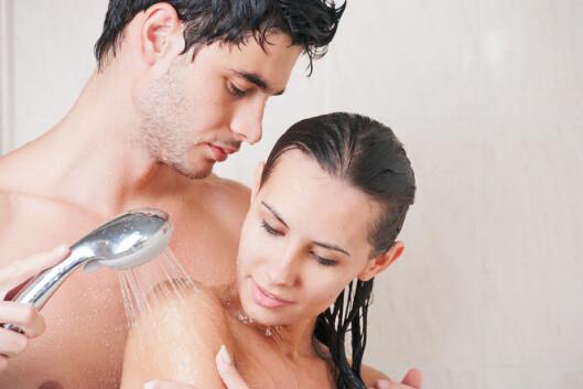 SPENNENDE: Det å sex i dusjen kan være både spennende og pirrende.  Foto: Shutterstock / NotarYES