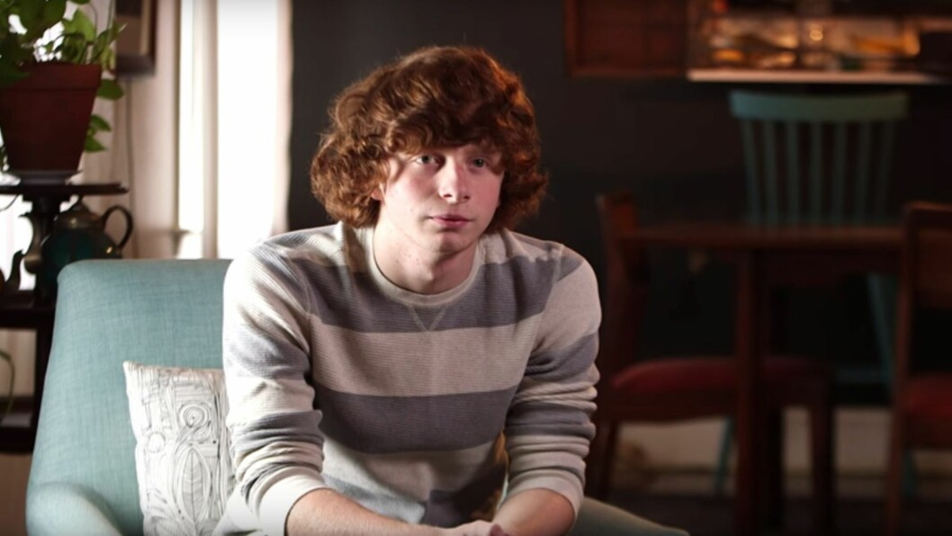 FRA BARN TIL UNGDOM: Brandy Hobbs, som ble spilt av Joseph Pupo, har blitt tenåring og avslørte i et nylig intervju at han aldri har sett en episode av serien han selv spilte i.