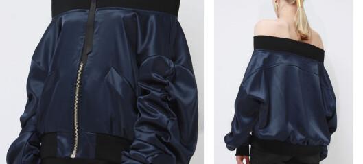 «Off-the-shoulder»-jakken er den nye bomberjakken