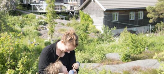 Gründer og designer Siri Brodersen tok med familien og flyttet til Lyngør