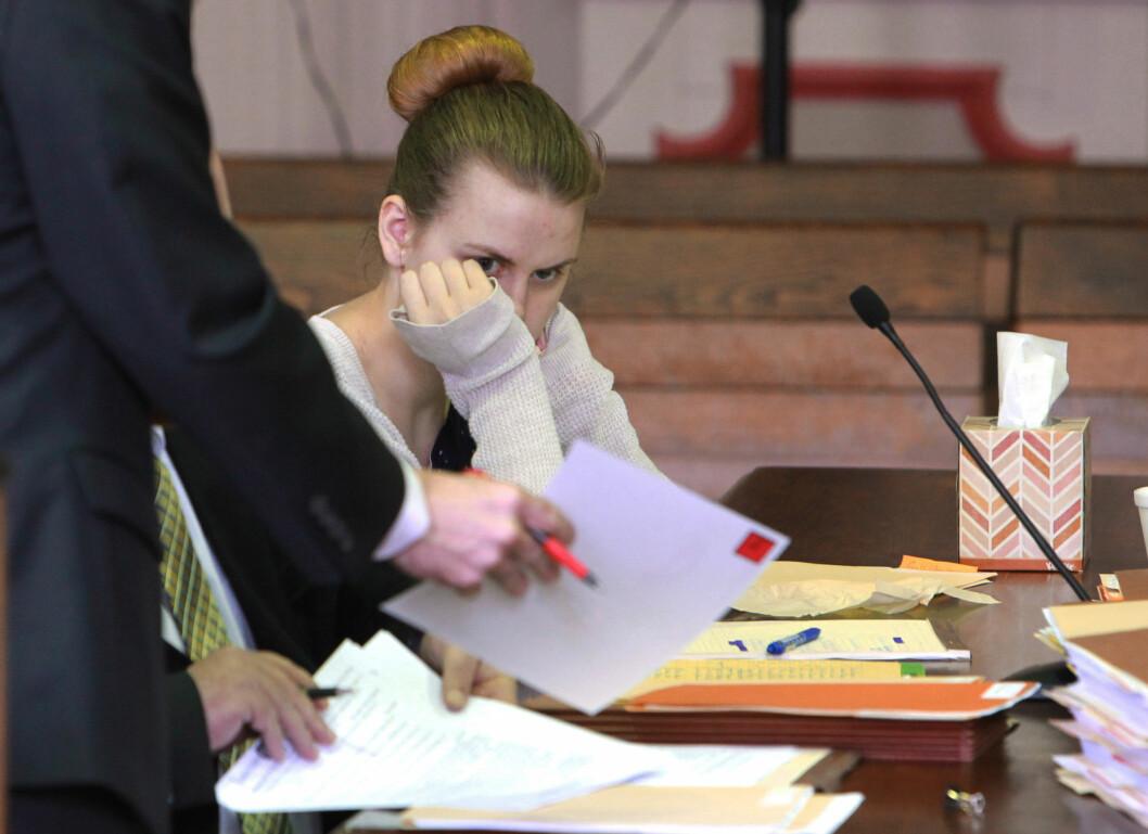 HEVDET SIN USKYLD: Emile Weaver fortalte i retten at hun hadde vært mentalt ustabil da den grove hendelsen inntraff. Hun ble ikke trodd. Bildet er tatt i mai i år. Foto: NTB Scanpix