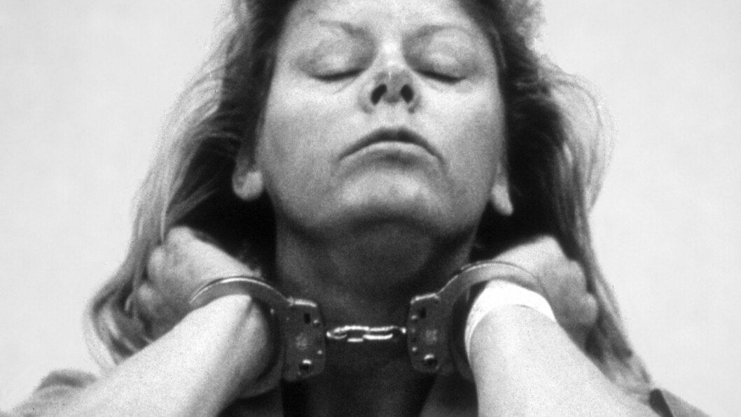 SERIEMORDER: Aileen Wuornos skjøt syv kunder mens hun jobbet som prostituert, og påsto til siste slutt at mordene skjedde i nødverge da mennene skal ha voldtatt eller prøvd å voldta henne. Foto: Scanpix