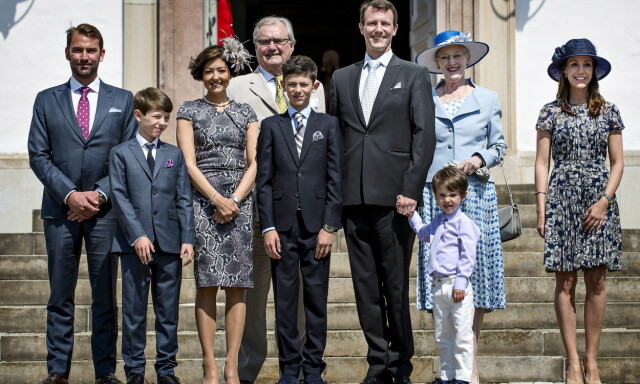 Dronning Margrethe og grevinne Alexandra - - Bitter strid om prins