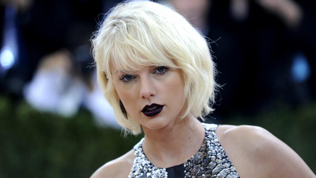 BEST BETALT: Taylor Swift (26) er den best betalte kjendisen i verden! Foto: DPA