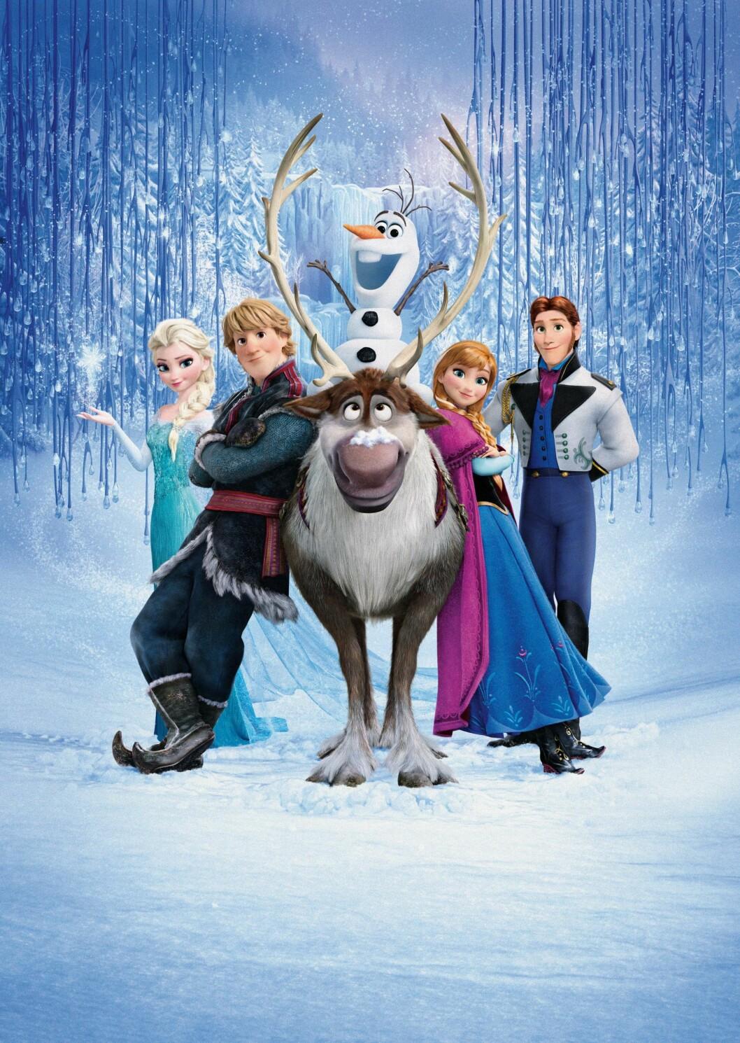 Frozen (2013): tjente 1,27 milliarder dollar.  Foto: WALT DISNEY ANIMATION STUDIOS / Album