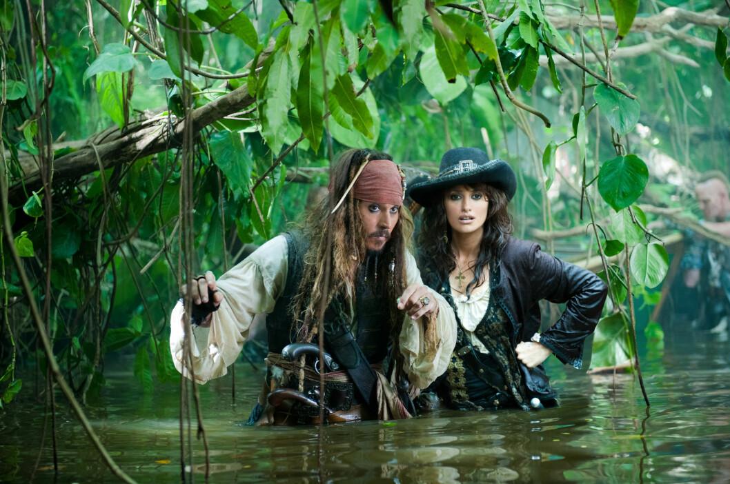 Pirates of the Caribbean: On Stranger Tides (2011): tjente 1,04 milliarder dollar.  Foto: WALT DISNEY PICTURES / Album