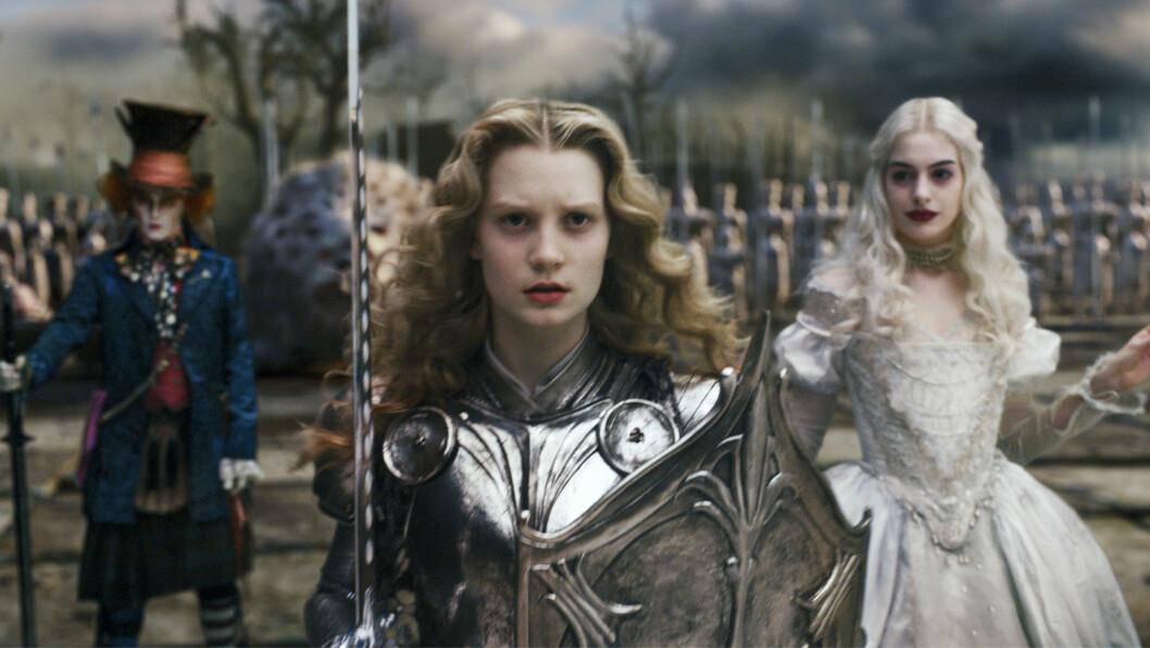 Alice in Wonderland (2010): tjente 1,02 milliarder dollar.  Foto: Mary Evans Picture