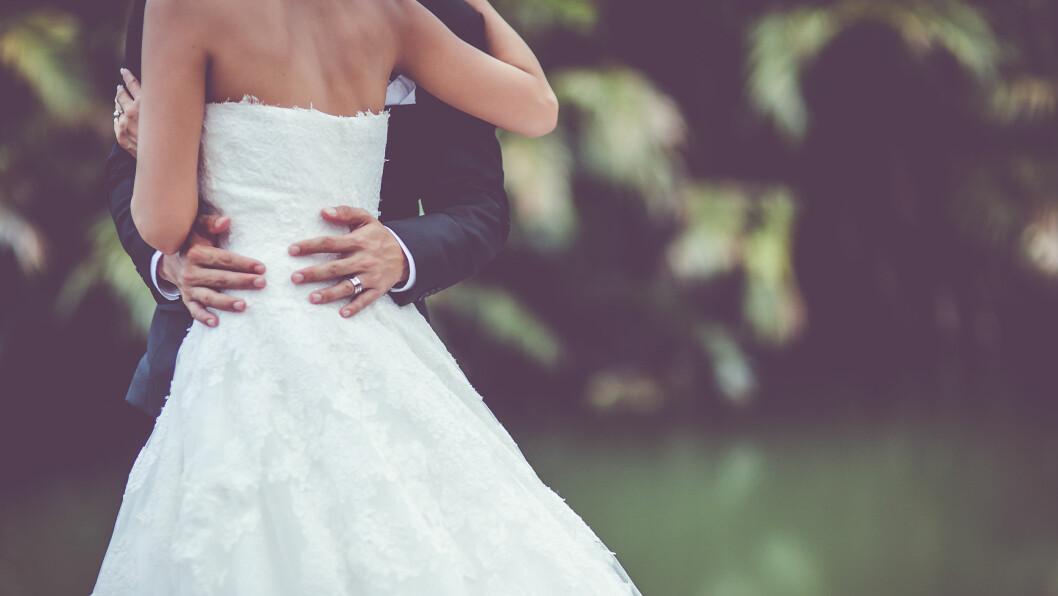 KJÆRLIGHETSLÅTER: Nå har Spotify kåret de mest populære bryllupslåtene globalt. Foto: Shutterstock / Filmmanjue