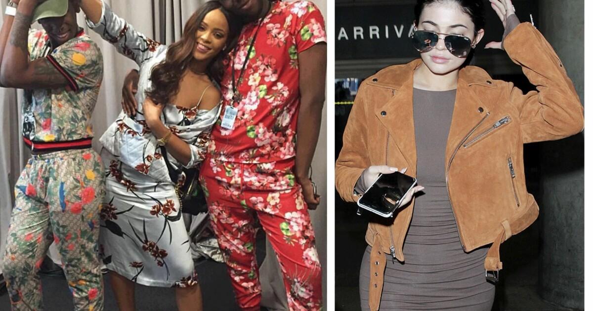 ccccf63a Rihanna: Rihanna og Kylie møtte opp i Skandinavisk design - KK