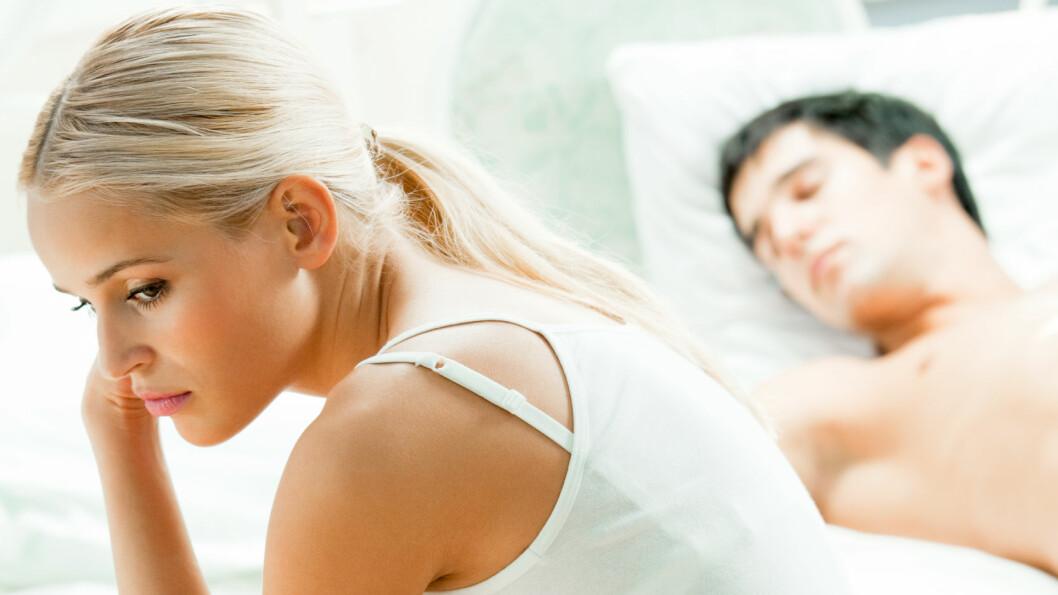 <strong>FØLE SKAM ETTER SEX:</strong> Å kjenne på en følelse av skam etter sex, kanskje uten å forstå hvorfor selv, er nok ikke uvanlig, mener ekspertene, og kan kommer av mye. Går det ikke over bør du snakke med noen om problemet.  Foto: Shutterstock / vgstudio