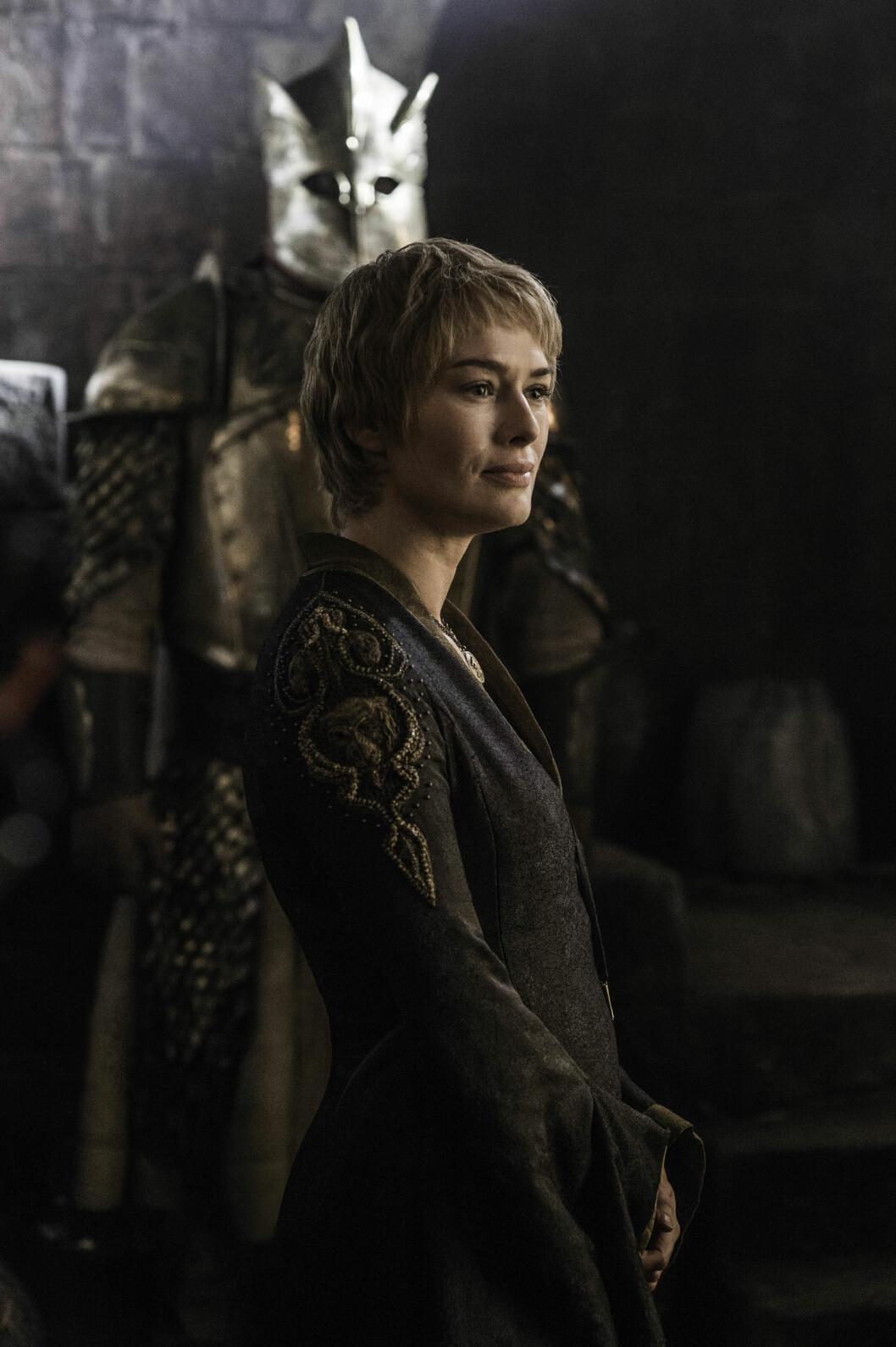 Cersei Lannister Foto: Skjermdump «Game of Thrones»