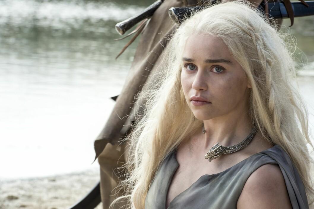 Daenerys Targaryen Foto: Skjermdump «Game of Thrones»