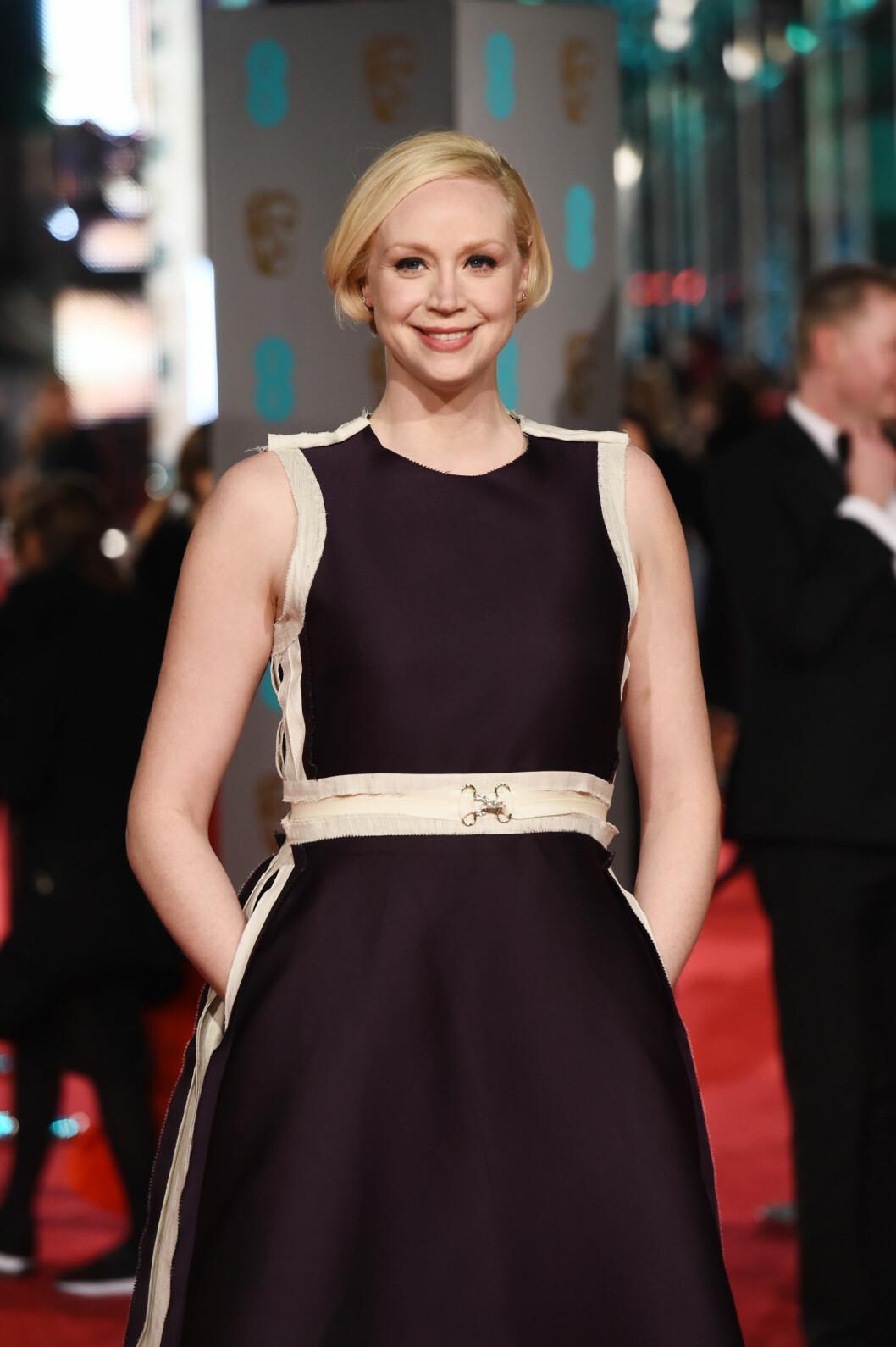 WOW! Altså, hvem hadde trodd at vi hadde sett Brienne, eller Gwendoline Christie som hun egentlig heter, i kjole.  Foto: Xposure