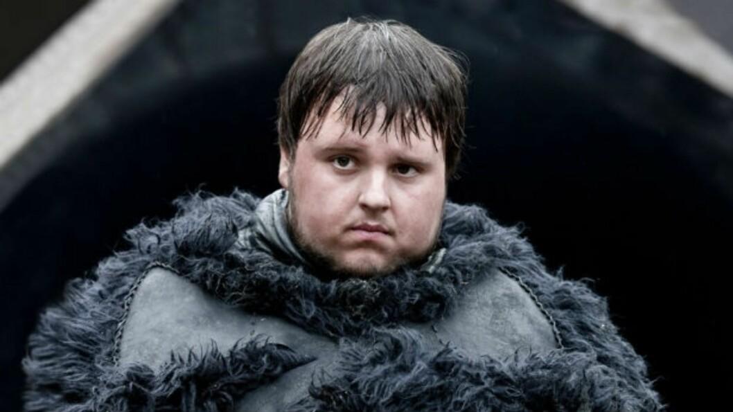 Samwell Tarly Foto: Skjermdump «Game of Thrones»