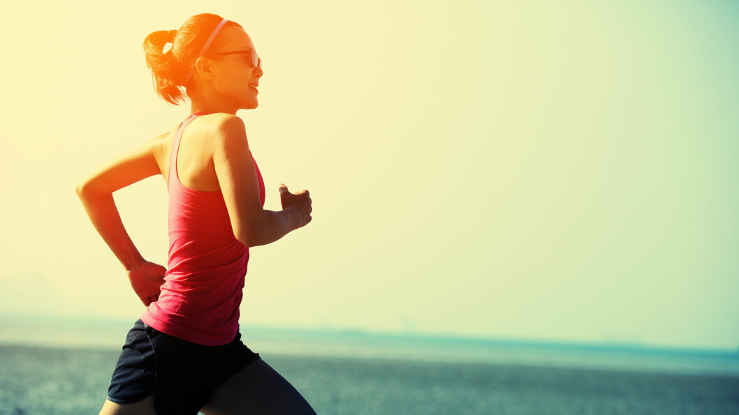 DU TRENGER BARE Å TA MED JOGGESKO: Uansett hvor i verden du er, er løping veldig enkelt å få til. Foto: Ina Damli/NTB Scanpix