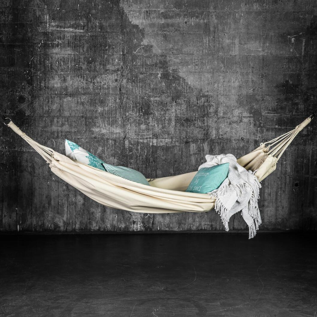 «Hvile» består av et kanvas i hundre prosent bomull (kr 500, homeandcottage).  Foto: Produsenten