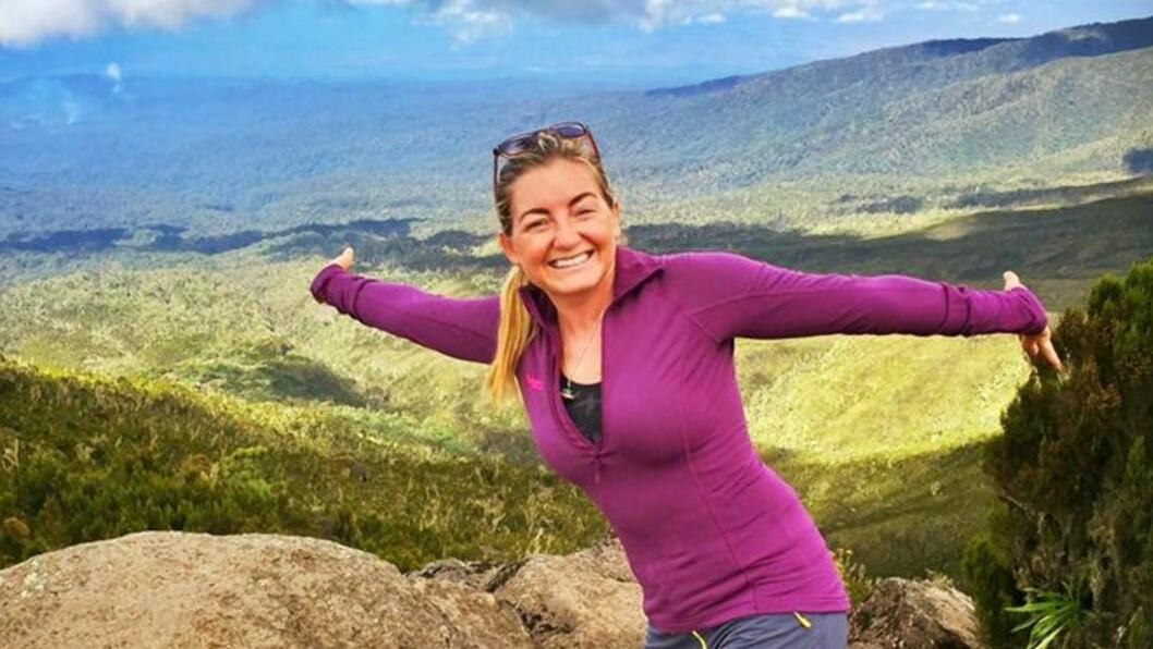 SMILER TIL LIVET: På tross av en tung oppvekst og mange sorger klarer Therese Moen å få mer glede ut av livet enn de fleste av oss.  Foto: Privat