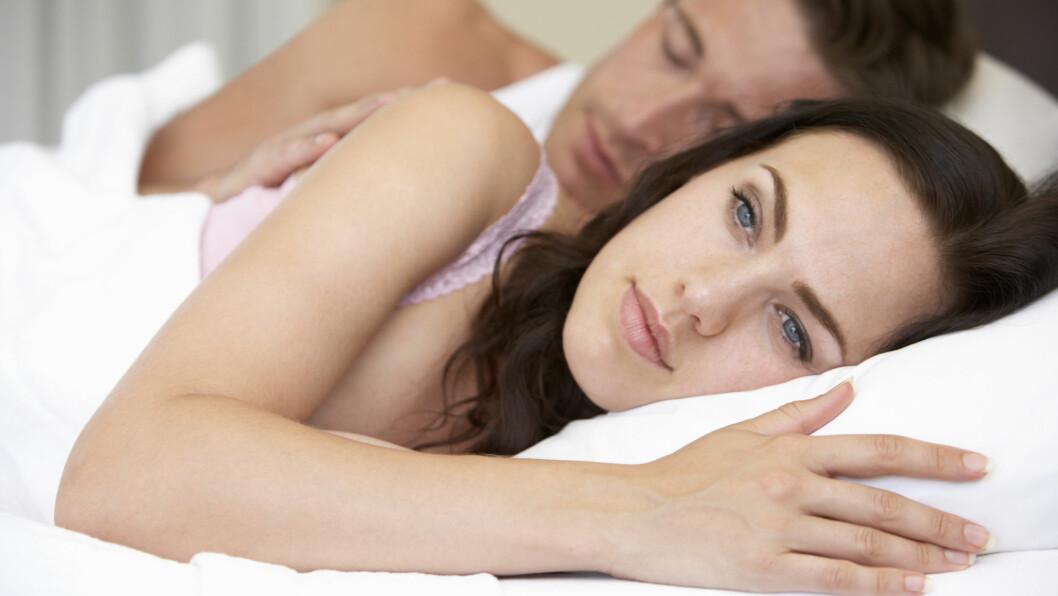 SEXTØRKE: Mange par her til lands har ikke hatt sex på flere år. Ifølge eksperten kan det skyldes flere ting.  Foto: Monkey Business - Fotolia