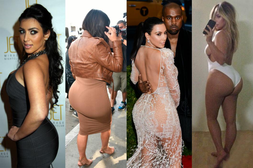 VERDENS MEST OMTALTE BAKDEL? Kim Kardashian har lenge vært kjent for sin formfulle stuss.