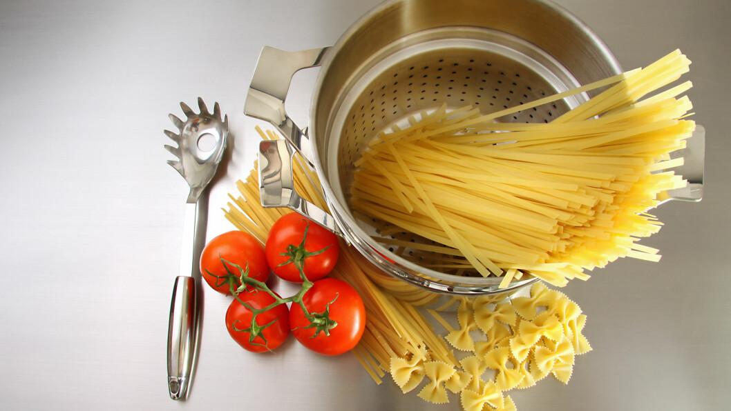 HULLET I PASTASLEIVA: Visste du at hullet i pastasleiva har en helt spesiell funksjon?  Foto: Shutterstock / Sandra Cunningham
