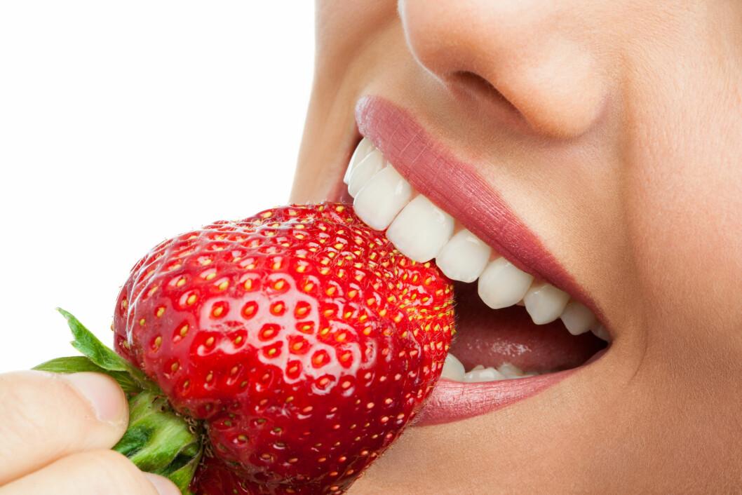 SMAKEN AV SOMMER: Smaken av norske jordbær er smaken av sommer. Foto: Shutterstock / karelnoppe