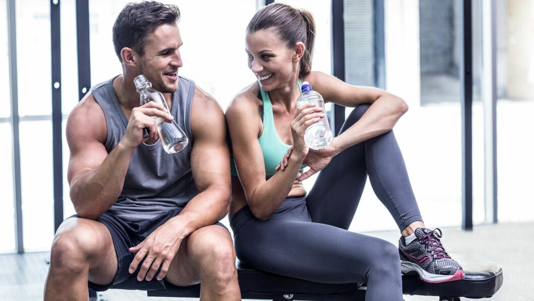 <strong>VENNER OG SEX:</strong> Hvor vanlig er det at dine mannlige venner også er betatt av deg? Ifølge ekspertene velger vi venner ut fra samme grunnlag som vi velger partnere.  Foto: Shutterstock / wavebreakmedia