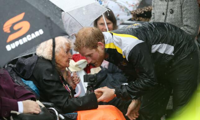 BESØKTE SYDNEY: Prins Harry under Invictus-lekene tidligere i år. Foto: NTB Scanpix