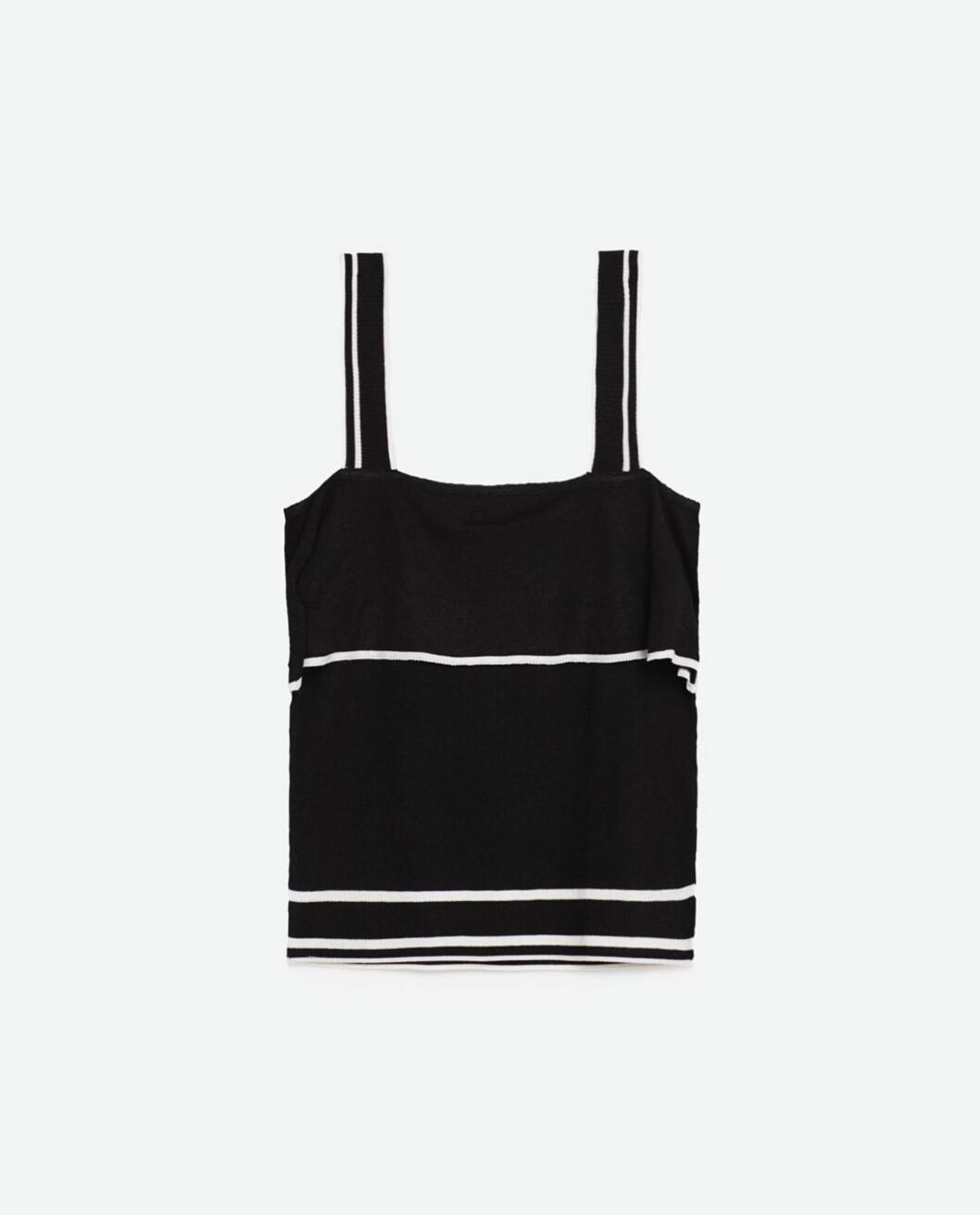 Topp fra Zara, kr 199. Foto: Produsenten