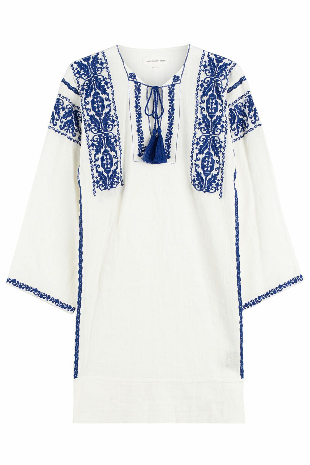 Kjole fra Isabel Marant Etoile via Stylebop.com, kr 2620. Foto: Stylebop.com