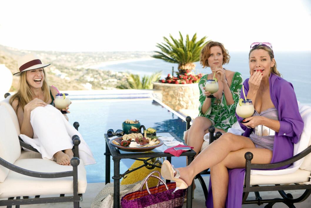 <strong>PÅ CARRIES BRYLLUPSREISE:</strong> Etter at Big ikke møter opp i han og Carries bryllup, drar hun og jentene på bryllupsreisen deres til Mexico. Foto: Mary Evans Picture