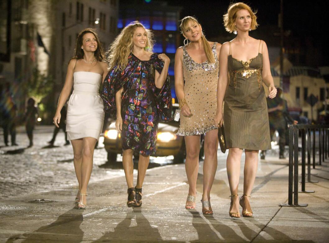 SMASHING: Damene kan å kle seg! Foto: Mary Evans Picture