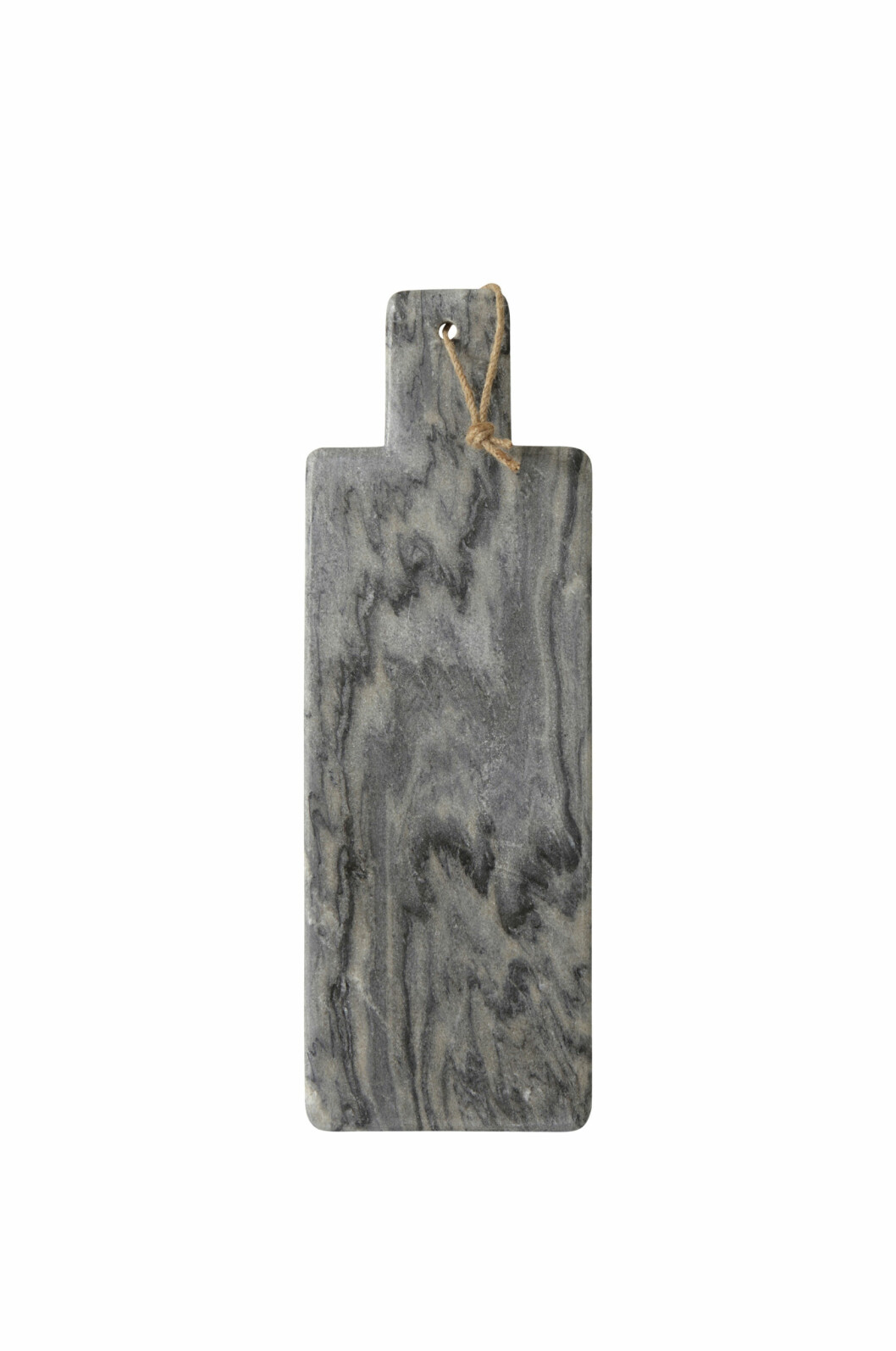 Skjærefjøl i mørk marmor (kr 300, Ellos). Foto: Produsenten