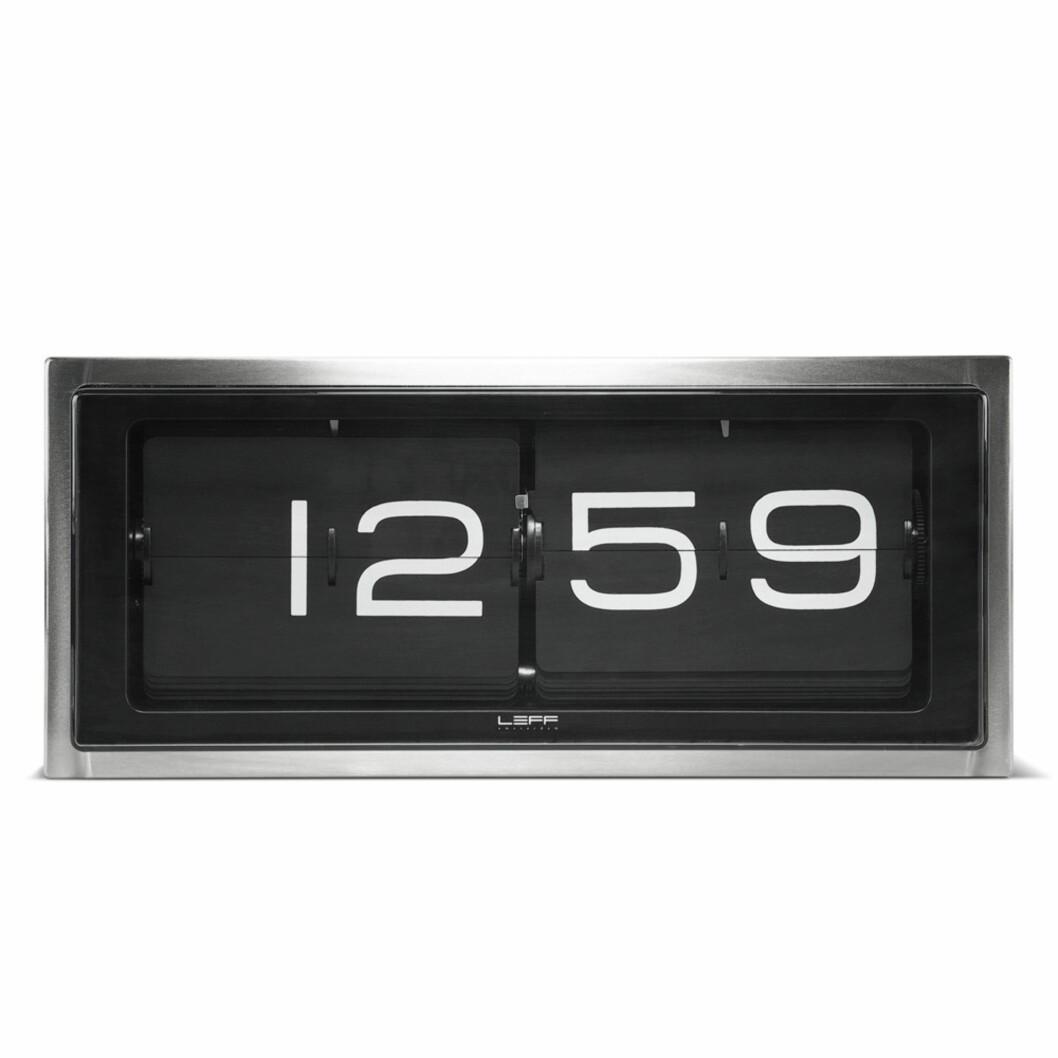 Enkel bordklokke (kr2500, Leff).  Foto: Produsenten