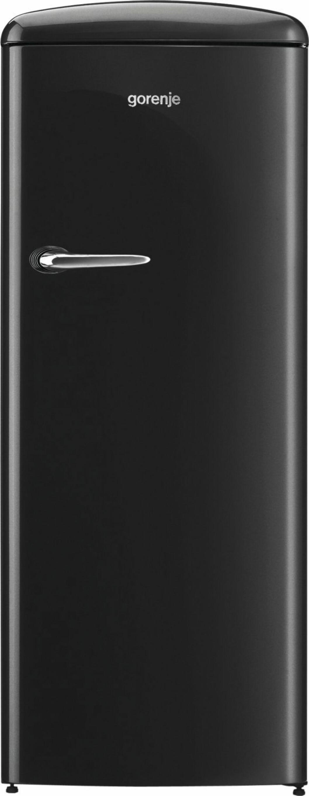 Stramt retro-kjøleskap med innvendig fryser (kr 9900, Gorenje). Foto: Produsenten