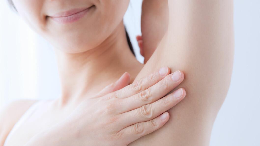 SVETTERINGER: Det finnes mange god grep du kan ta dersom du sliter med svetteringer.  Foto: Shutterstock / aijiro