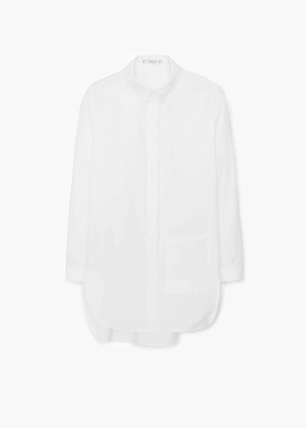 Skjorte fra Mango, kr 399. Foto: Produsenten