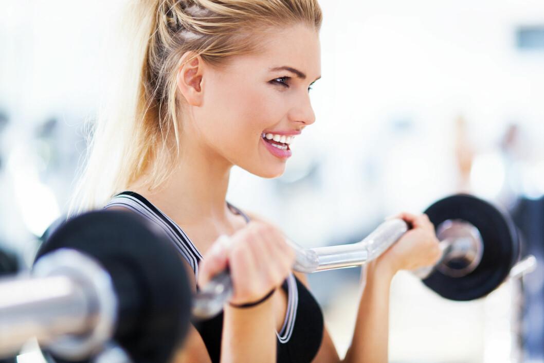 HVOR OFTE? Styrketrening gir en rekke helsefordeler, men er det tilstrekkelig å trene kun én økt i uken? Foto: Shutterstock / Edyta Pawlowska