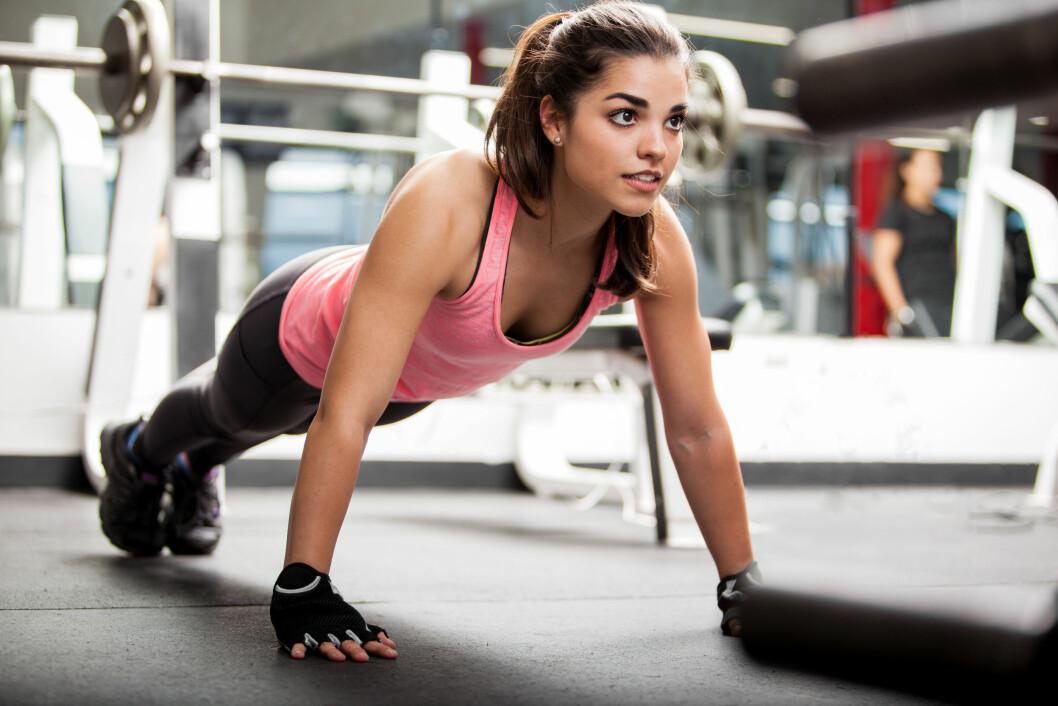 I VEKST: Når vi trener styrke, trigger vi musklene til å vokse.  Foto: Shutterstock / antoniodiaz