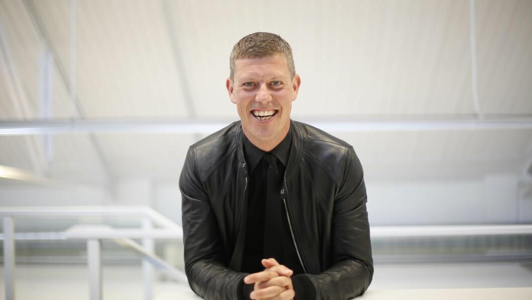 JAN FREDRIK KARLSEN: Under KK-dagen holdt Jan Fredrik Karlsen (42) et motiverende foredrag om hvordan han har nådd målene sine.  Foto: Aftenposten