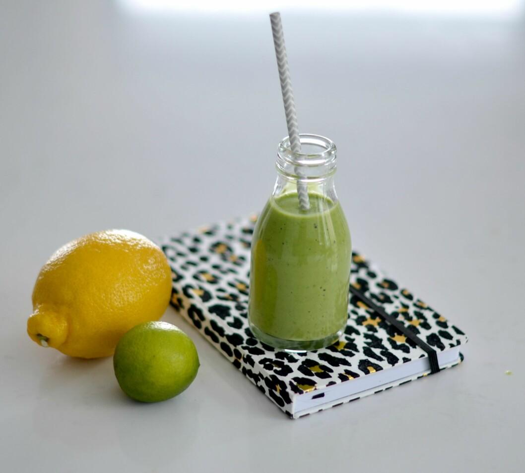 GREEN LECITHIN: Denne vitaminbomben passer perfekt til deg som trener.  Foto: Karoline Nordbø