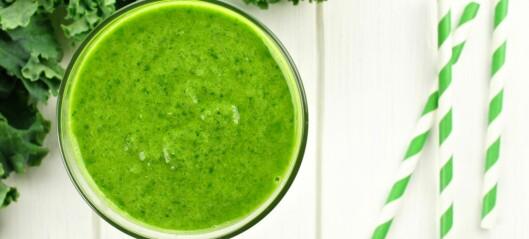 Ha grønnkål i smoothien!