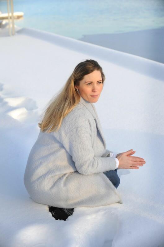 UTBRENT: – Jeg innså at mønstrene som bidro til utbrentheten strakte seg tilbake til barndommen. Ønsket om å gjøre alt rett og frykten for å feile, forteller Cathrine.  Foto: All Over Press Norway/Marianne Otterdahl-Jensen