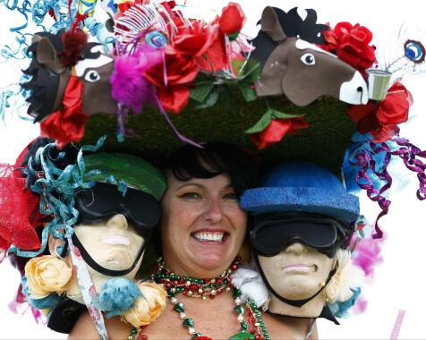 image: Sjekk ut disse elleville hattene fra årets Kentucky Derby!