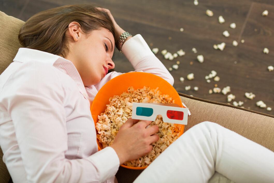 TRØTT: Mennesker med narkolepsi kan sovne når som helst, hvor som helst. Foto: Shutterstock / Tinatin