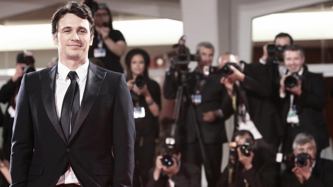 JAMES FRANCO: Den kjekke Hollywood-hunken er en ettertraktet mann - blant begge kjønn - og innrømmer i et nytt intervju at han personlig faller både for kvinner og menn. Foto: NTB Scanpix