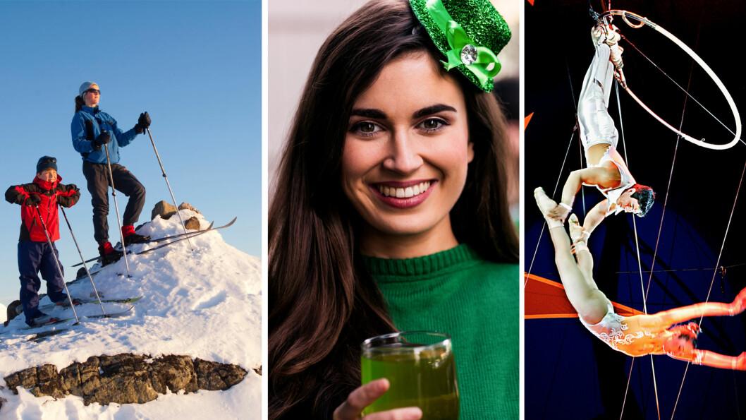 HELGEGUIDE: Denne helgen starter påsken for fullt, det er St. Patrick's Day og du kan oppleve den hyggelige sirkusstemningen til Cirkus Arnardo. Hvor? Scroll deg ned så får du se! Foto: NTB Scanpix